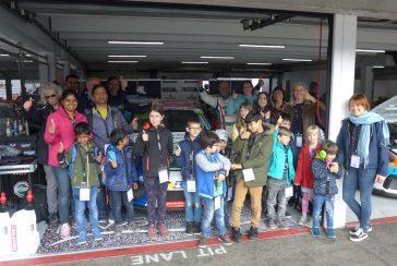 Der Kinderschutzbund zu Besuch auf dem Hockenheimring