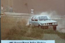 Rallye Sinsheim 1981 - Hornung Motorsport